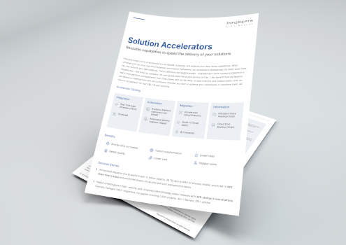 Solution Accelerators Overview