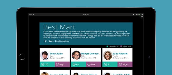 InStore-Recommendation-App