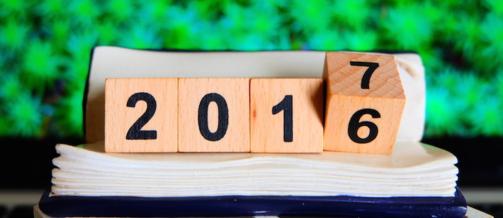 2016 Yearly Blog Review